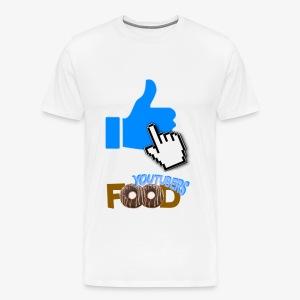 La nourriture de Youtuber - T-shirt premium pour hommes