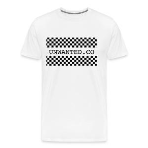 checkered unwanted - Men's Premium T-Shirt