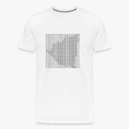 Nicaragua 2018 Black - Men's Premium T-Shirt