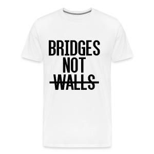 Bridges not Walls - Men's Premium T-Shirt
