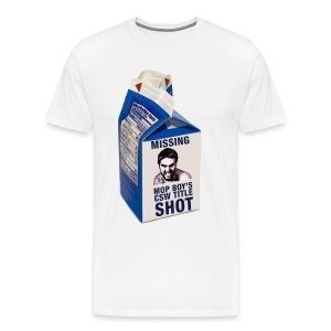 Missing CSW Title shot - Men's Premium T-Shirt