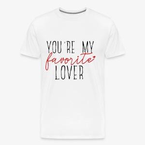 Favorite Lover - Men's Premium T-Shirt