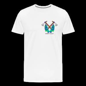 Nikstalgic - Tomahawk Black - Men's Premium T-Shirt