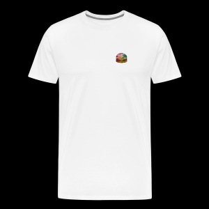 BURGER SWIRL - Men's Premium T-Shirt