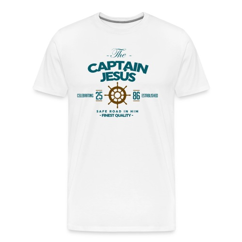 Captain Jesus - Men's Premium T-Shirt