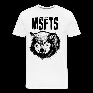 WeAreMSFTS Pack of Misfits Logo - Men's Premium T-Shirt