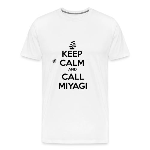 CALL MIYAGI - Men's Premium T-Shirt