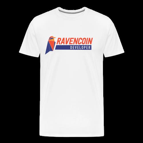 Ravencoin Developer RVN Bird Logo - Men's Premium T-Shirt