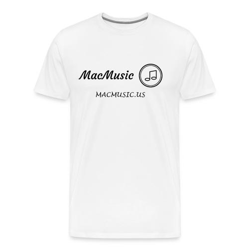 MacMusic - Men's Premium T-Shirt