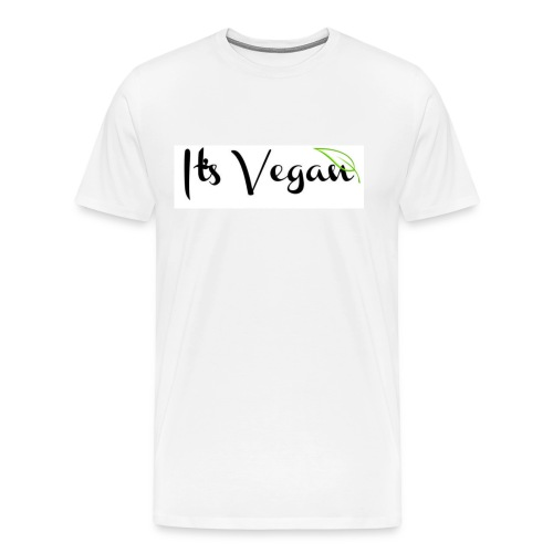 It's Vegan - Men's Premium T-Shirt