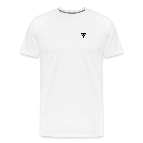 Viibe Logo Black - Men's Premium T-Shirt