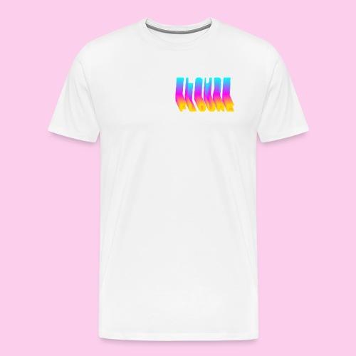 FLOURE VAPORWAVE - Men's Premium T-Shirt