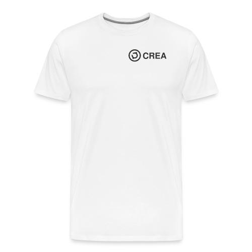 logo + CREA - Men's Premium T-Shirt