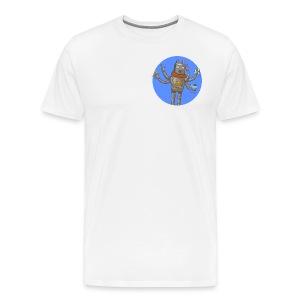 Robot GitLab CI/CD - Men's Premium T-Shirt