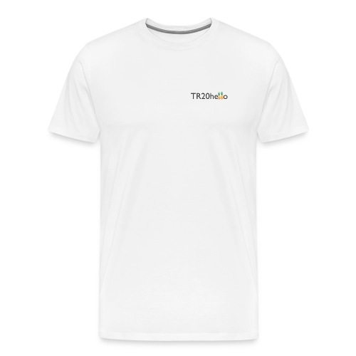 TR20hello - Men's Premium T-Shirt