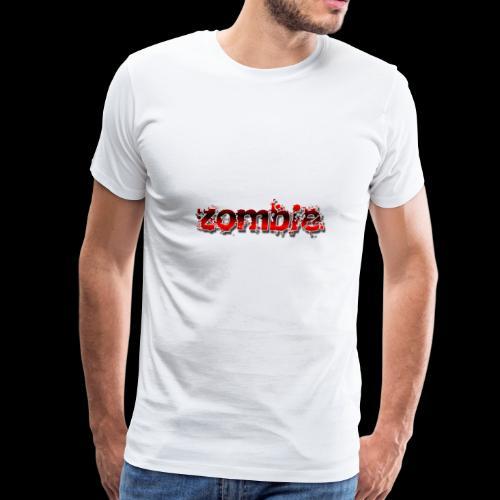 graphics zombie - Men's Premium T-Shirt