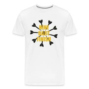9 Dart Finish Shirt - Men's Premium T-Shirt