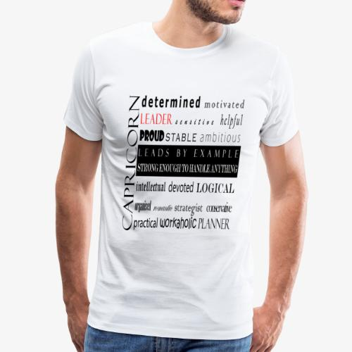 Capricorn - Men's Premium T-Shirt