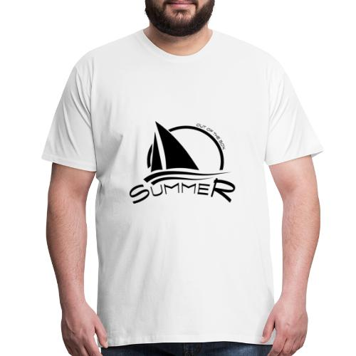 Summer boat out of the box - Men's Premium T-Shirt