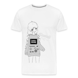 Game Over Kawaii - Men's Premium T-Shirt