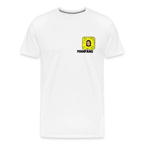 Manfans fans Snapchat - Men's Premium T-Shirt
