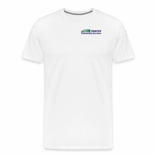 Frontier Logo - Full Color - Men's Premium T-Shirt