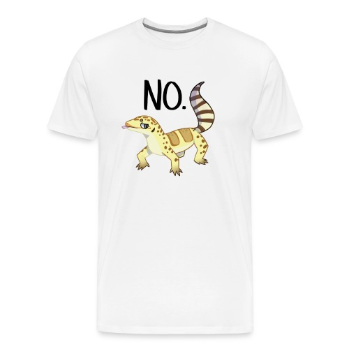 Heck no gecko - Men's Premium T-Shirt