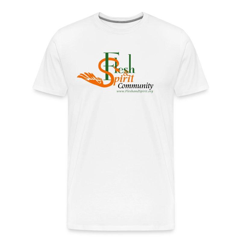 Flesh and Spirit Community T-Shirt - Men's Premium T-Shirt