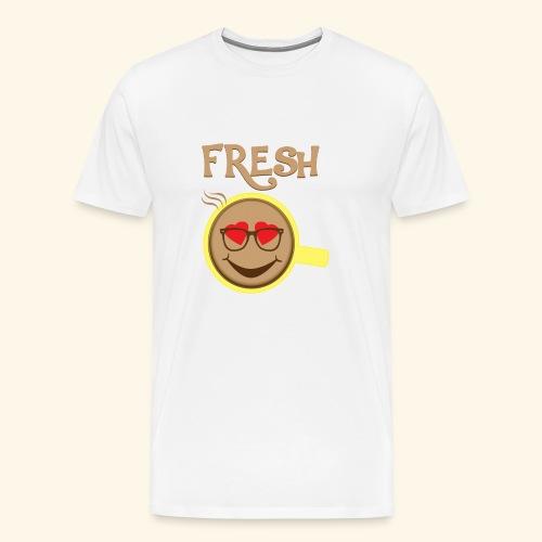 Fresh Coffee - Men's Premium T-Shirt
