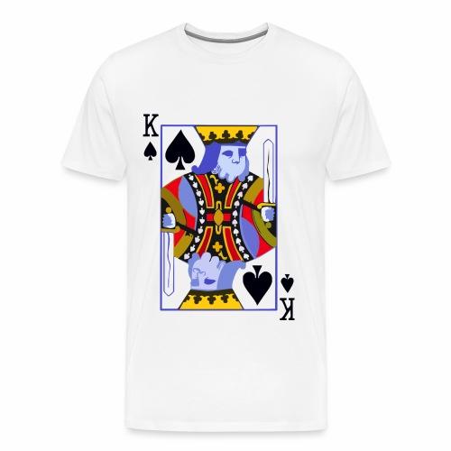 King Of Spades - Men's Premium T-Shirt