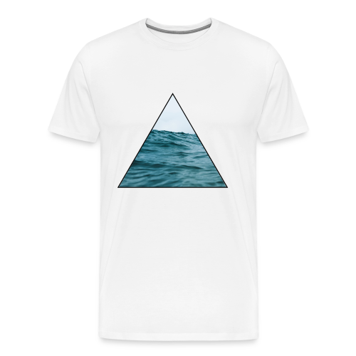 triangle sea - Men's Premium T-Shirt