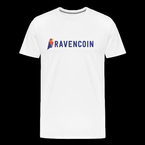 Ravencoin Bird Symbol - Men's Premium T-Shirt