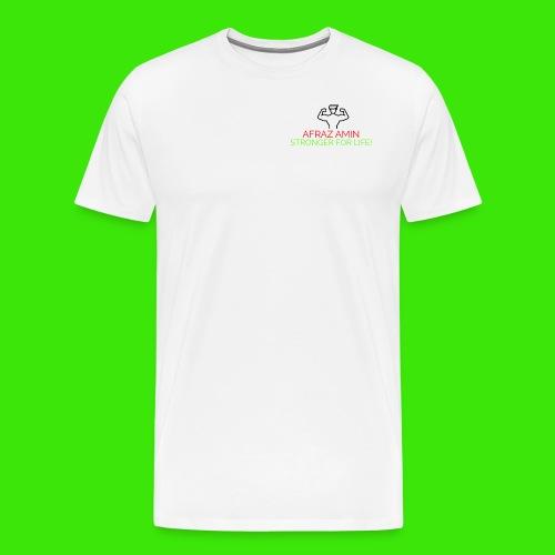 Afraz Amin - Stronger For Life - Men's Premium T-Shirt