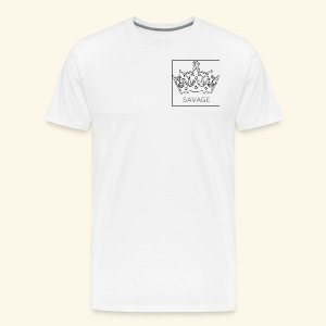 Savage Crown - Men's Premium T-Shirt