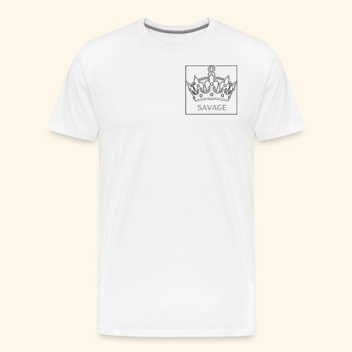 Savage Crown - Men's Premium T-Shirt