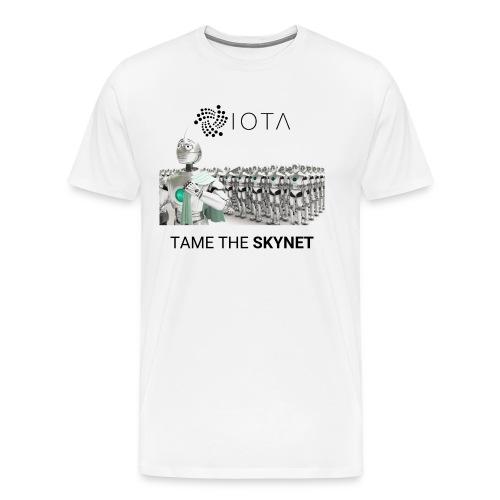 TAME THE SKYNET - Men's Premium T-Shirt