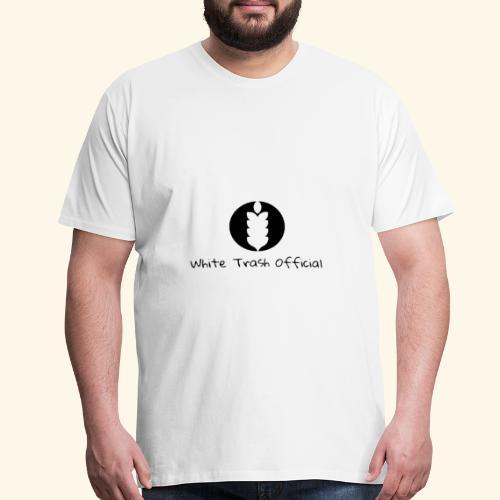 the white trash official - Men's Premium T-Shirt