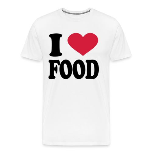 i love food - Men's Premium T-Shirt