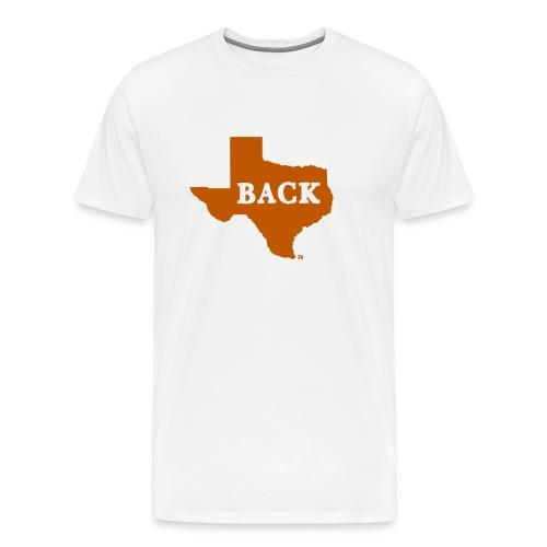 FOOTBALL: Texas is Back - Men's Premium T-Shirt
