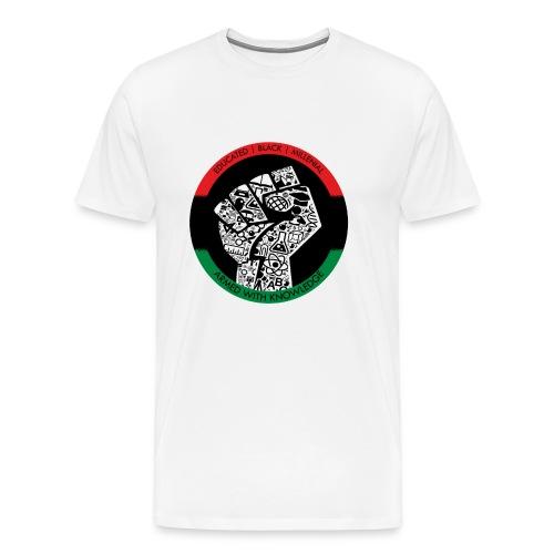 Educated Black Millennial - Men's Premium T-Shirt