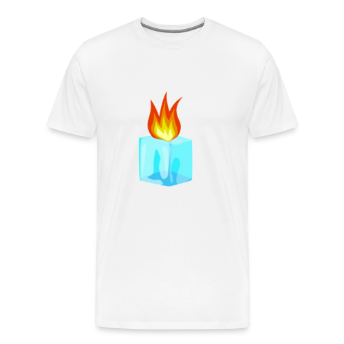 PZKTastic Logo T-Shirt (Get White as the Color) - Men's Premium T-Shirt