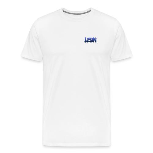 Blue Leon White Tee - Men's Premium T-Shirt