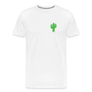 simple cactus - Men's Premium T-Shirt