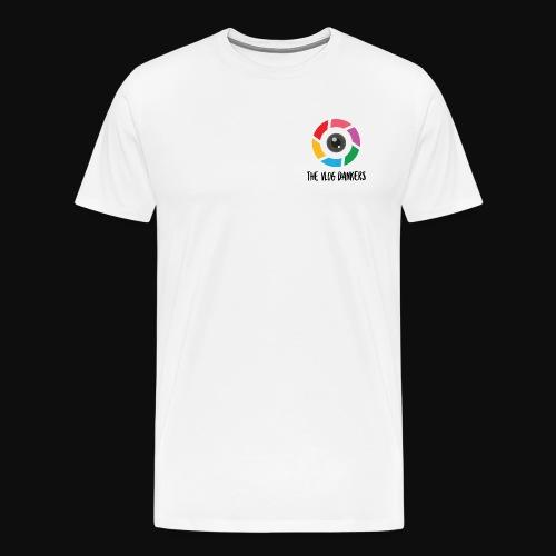 Vlog Dankers Camera Design - Men's Premium T-Shirt