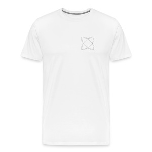 haxe logo outline - Men's Premium T-Shirt