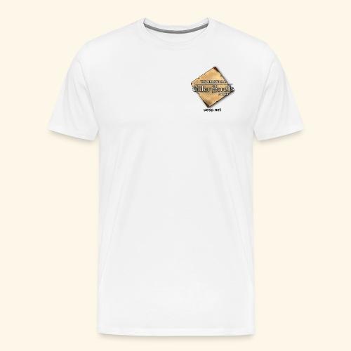 Uesp Left Pocket with Website - Men's Premium T-Shirt