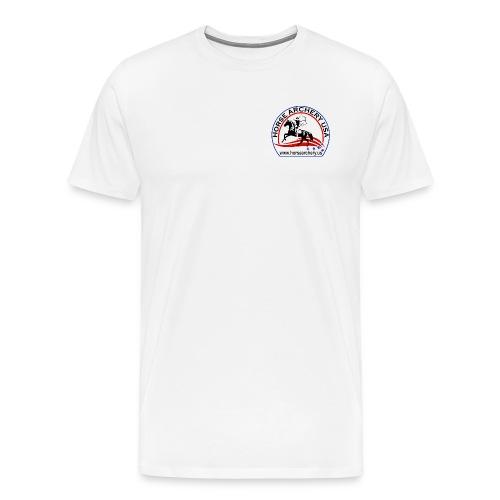 HAUSA GLOW LOGO - Men's Premium T-Shirt