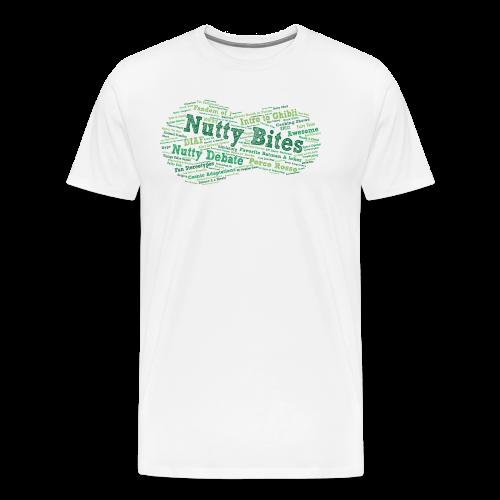 Nutty Bites 100! - Men's Premium T-Shirt