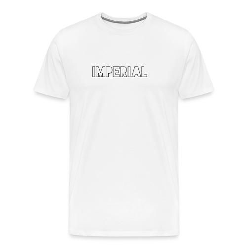 Plain Imperial Logo - Men's Premium T-Shirt