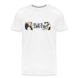 T-shirts Trèfle noir - T-shirt premium pour hommes